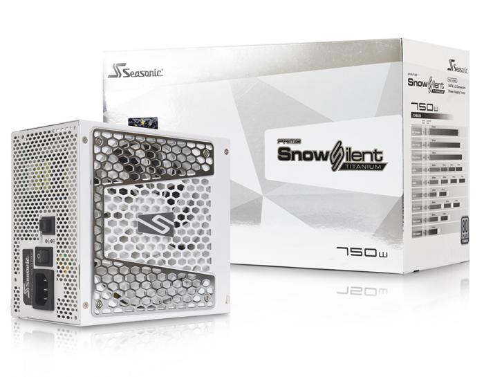 맥스엘리트, 순백의 시소닉 프라임 스노우 사일런트 750W 파워 출시